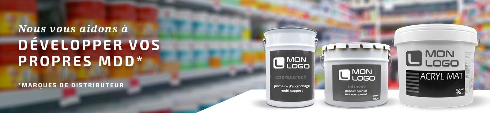 Nous vous aidons à développer vos marques de distributeur